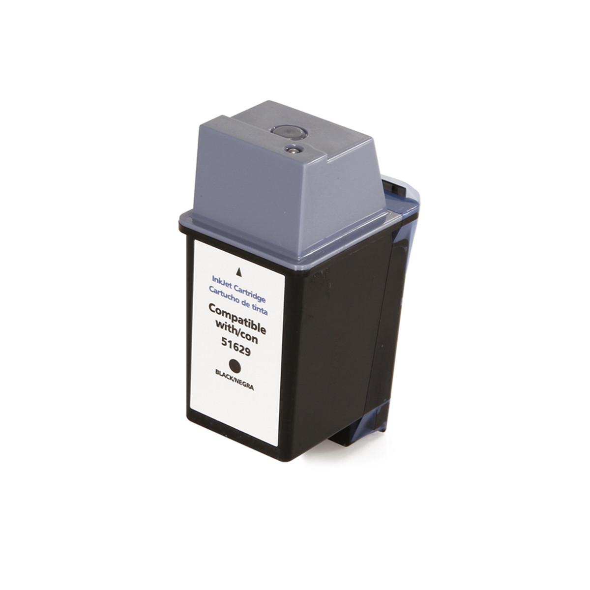 Cartucho de Tinta Compatível com HP 29 51629 Preto | Deskjet 600 Officejet 500 PSC-370 Fax 910 38ml