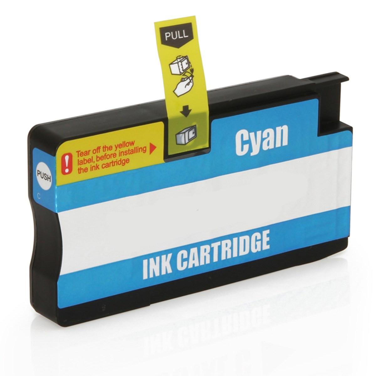 Cartucho de Tinta Compatível com HP 954XL L0S62AB Ciano   7730 7740 8210 8710 8720 8730   26ml
