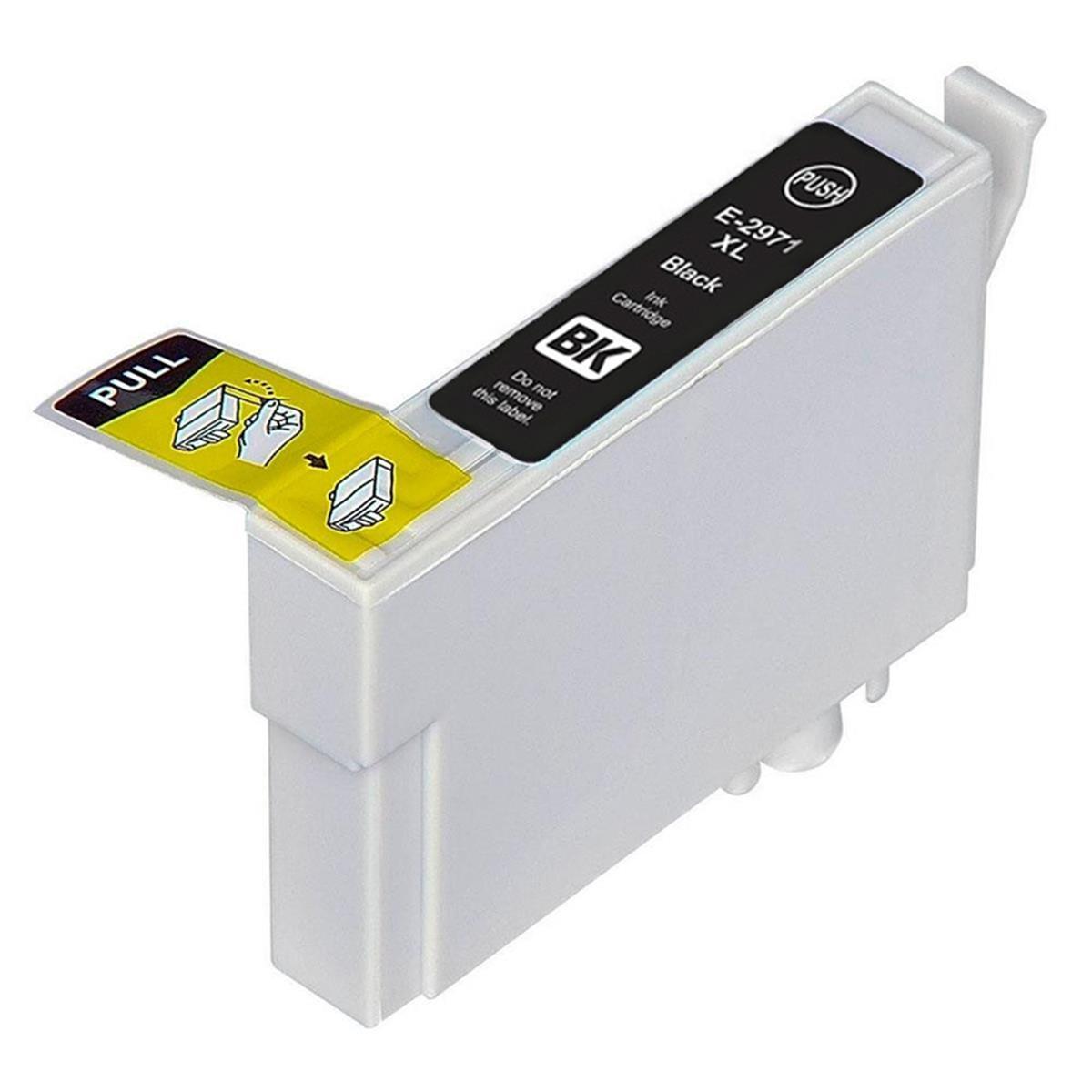 Cartucho de Tinta Epson T297120 T297 Preto | XP441 XP241 XP-441 XP-241 | Compatível Importado 17ml