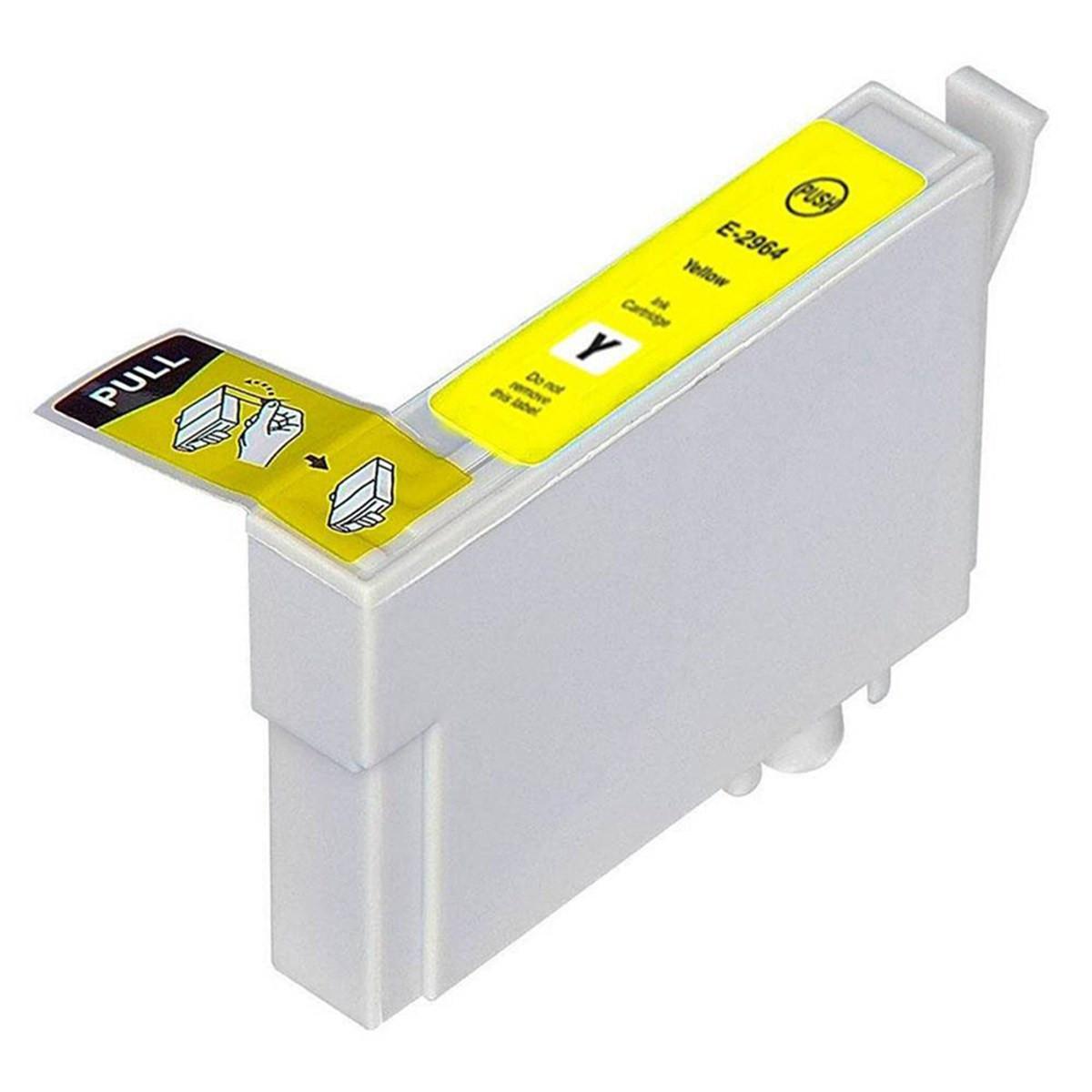 Cartucho de Tinta Compatível com Epson T296420 T296 Amarelo | XP-441 XP-431 XP-241 | 13ml