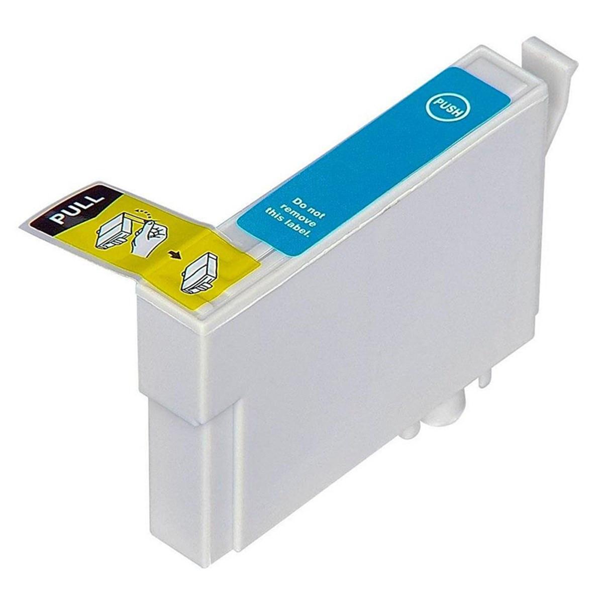 Cartucho de Tinta Compatível com Epson T296220 T296 Ciano | XP-441 XP-431 XP-241 | 13ml
