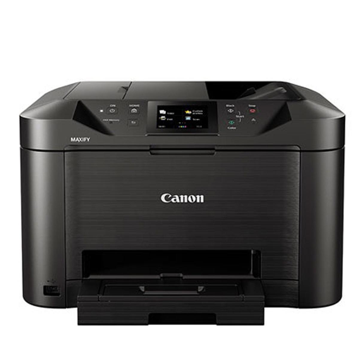 Impressora Canon Maxify MB5110 MB-5110 | Multifuncional Jato de Tinta com Conexão Wireless e Duplex