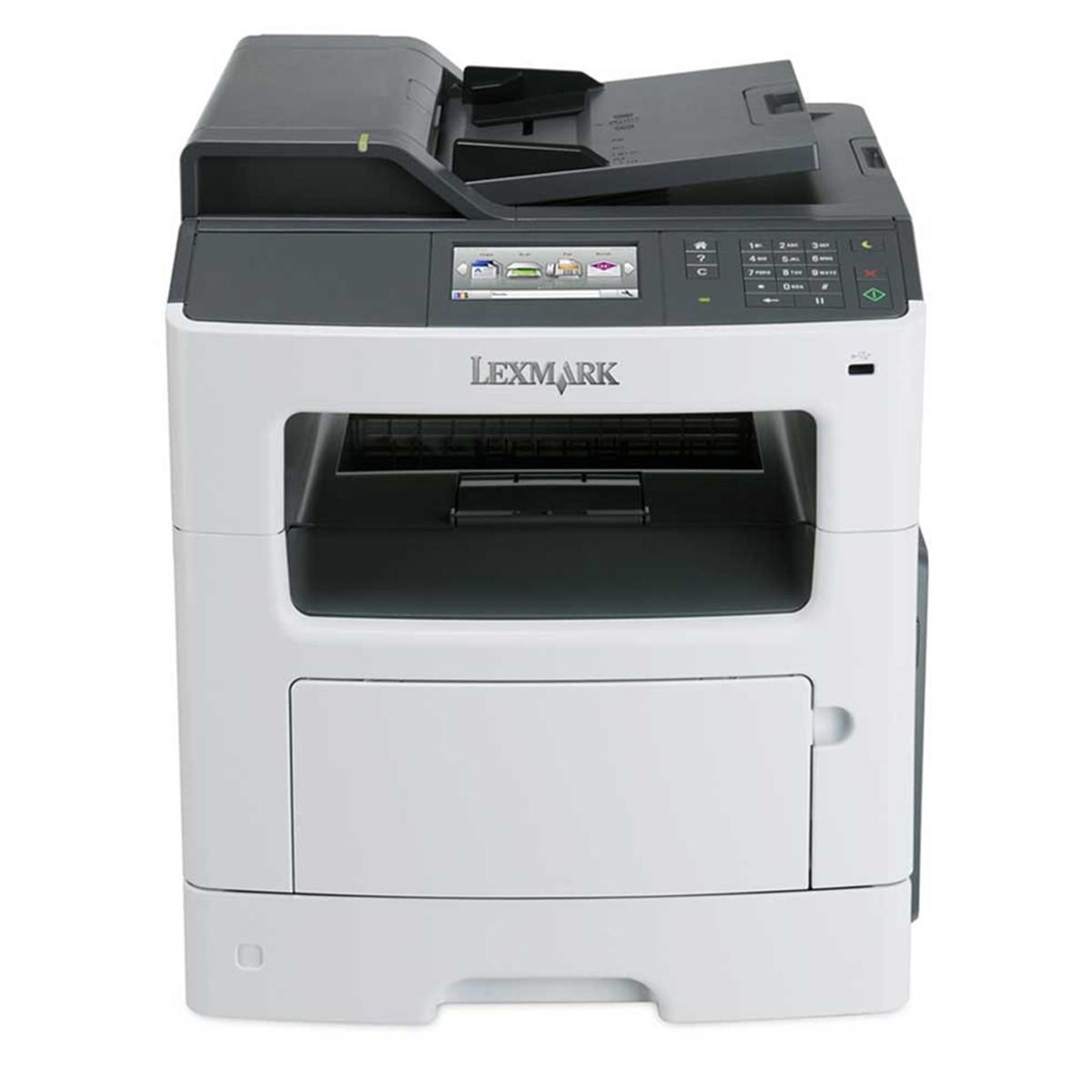 Impressora Lexmark MX417DE MX417 | Multifuncional Laser Monocromática com Rede e Duplex Completo