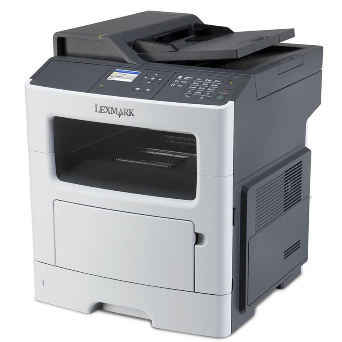 Impressora Lexmark MX317DN MX317 Multifuncional Laser Monocromática com Rede e Duplex