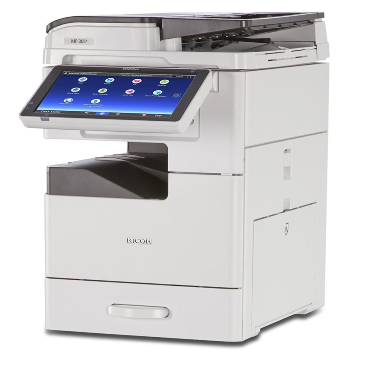 Impressora Ricoh MP 305SPF MP305 | Multifuncional Laser Monocromática com Rede e Duplex