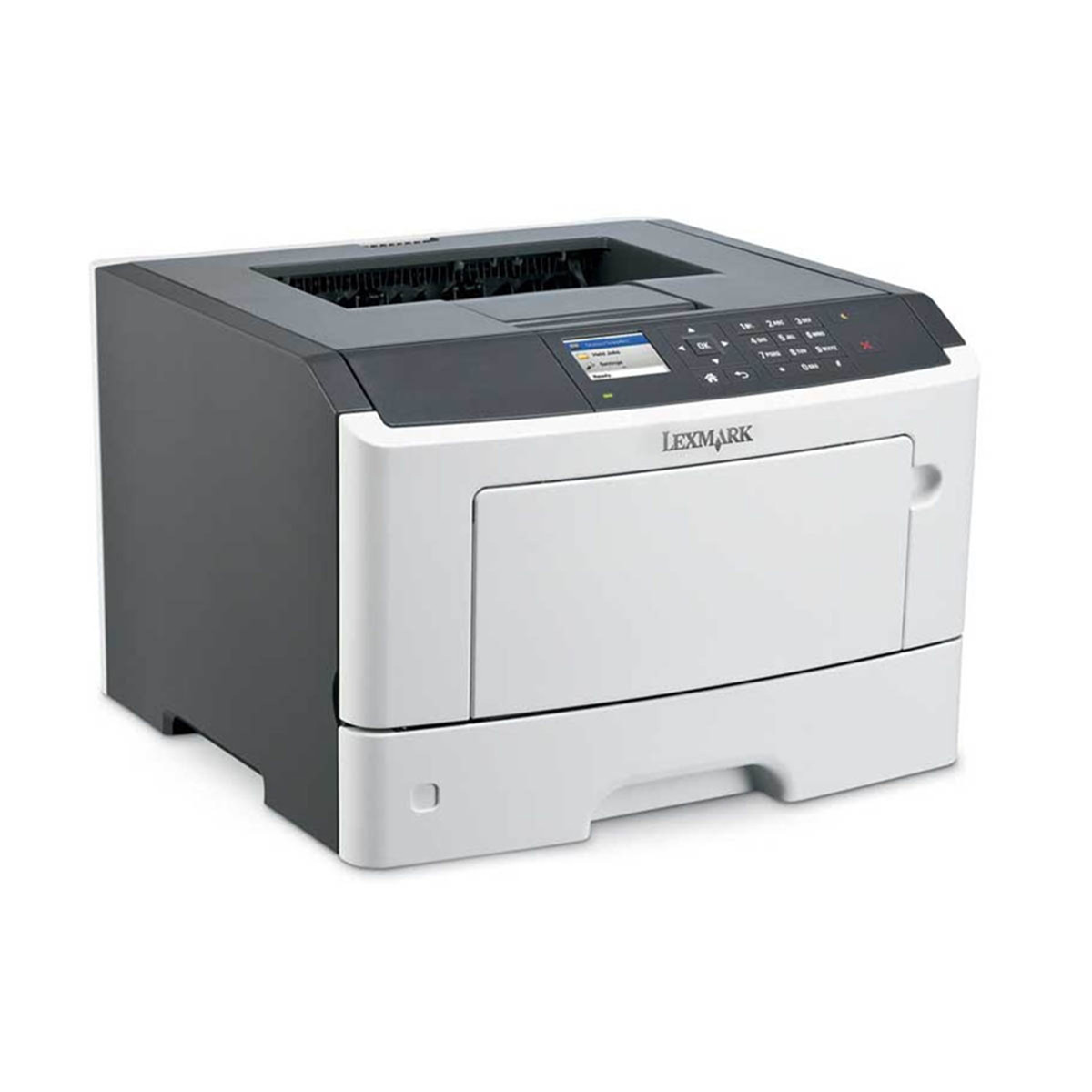 Impressora Lexmark MS517DN MS517   Laser Monocromática com Duplex e Rede