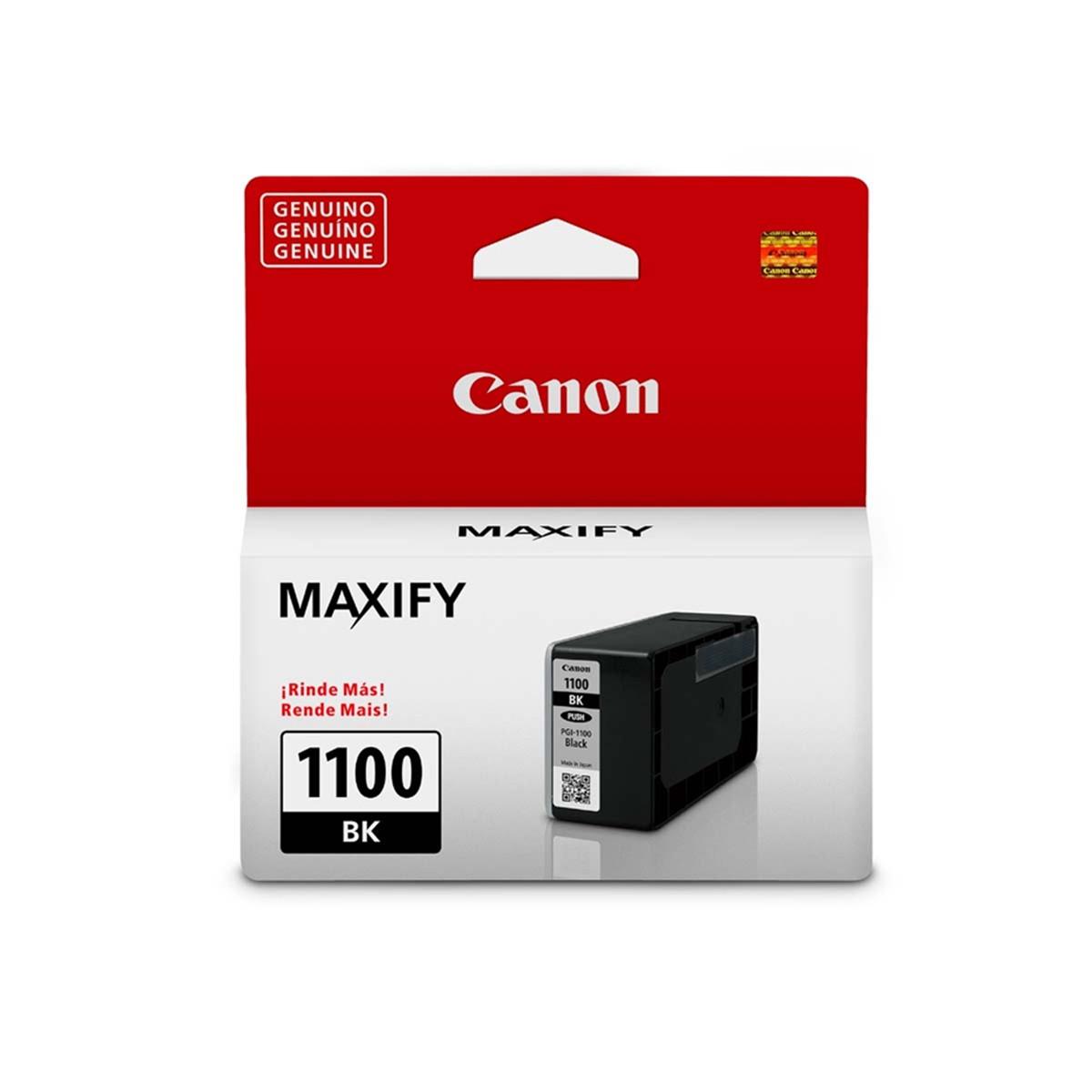 Cartucho de Tinta Canon PGI-1100 PGI1100BK Preto | Original 12,4ml