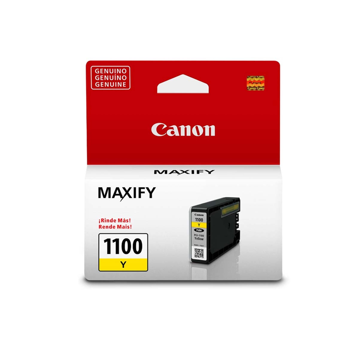 Cartucho de Tinta Canon PGI-1100 PGI1100Y Amarelo | Original 4,5ml