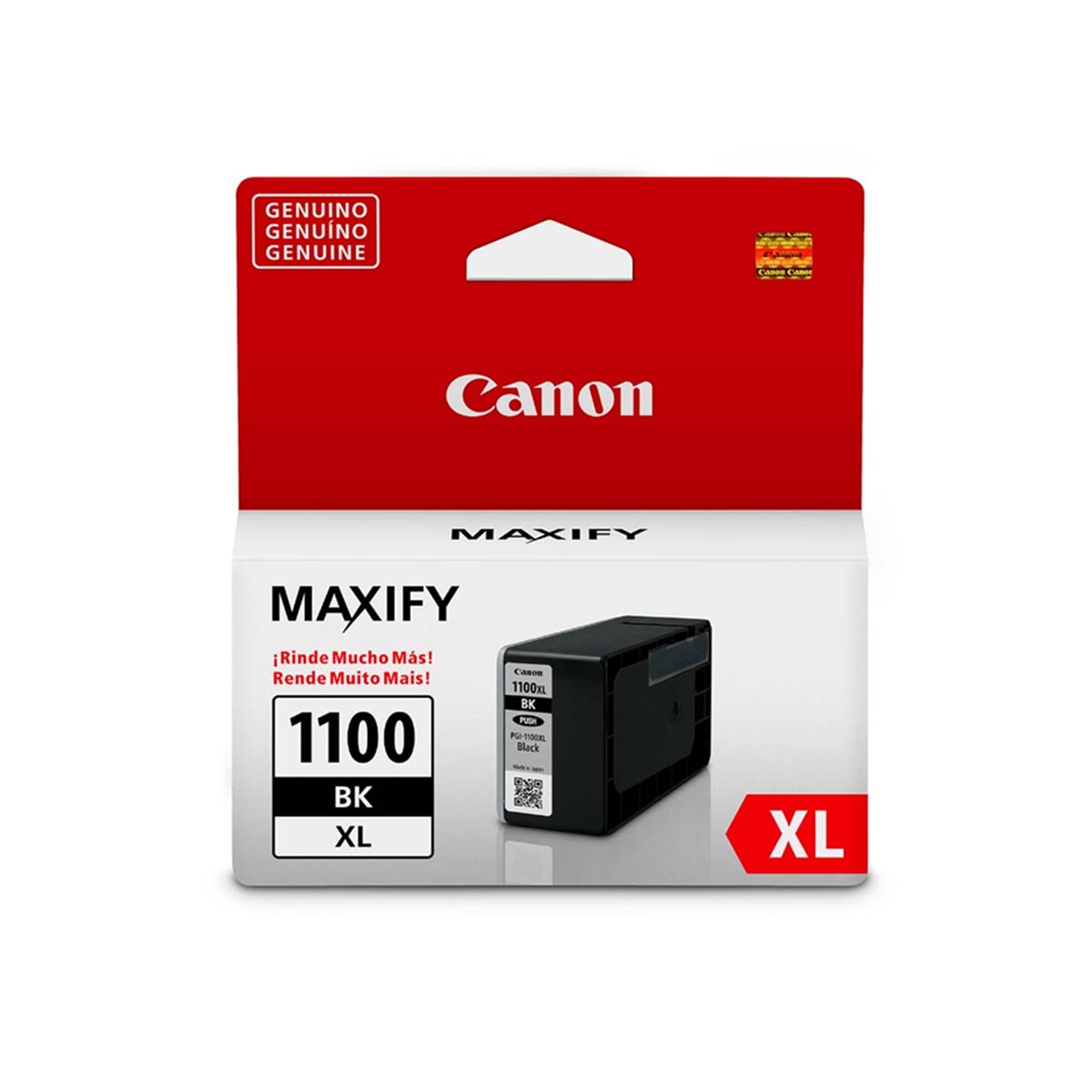 Cartucho de Tinta Canon PGI-1100XL PGI1100XL Preto   Original 34,7ml