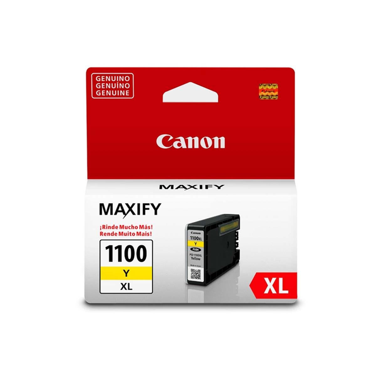 Cartucho de Tinta Canon PGI-1100XL PGI1100XL Amarelo | Original 12ml
