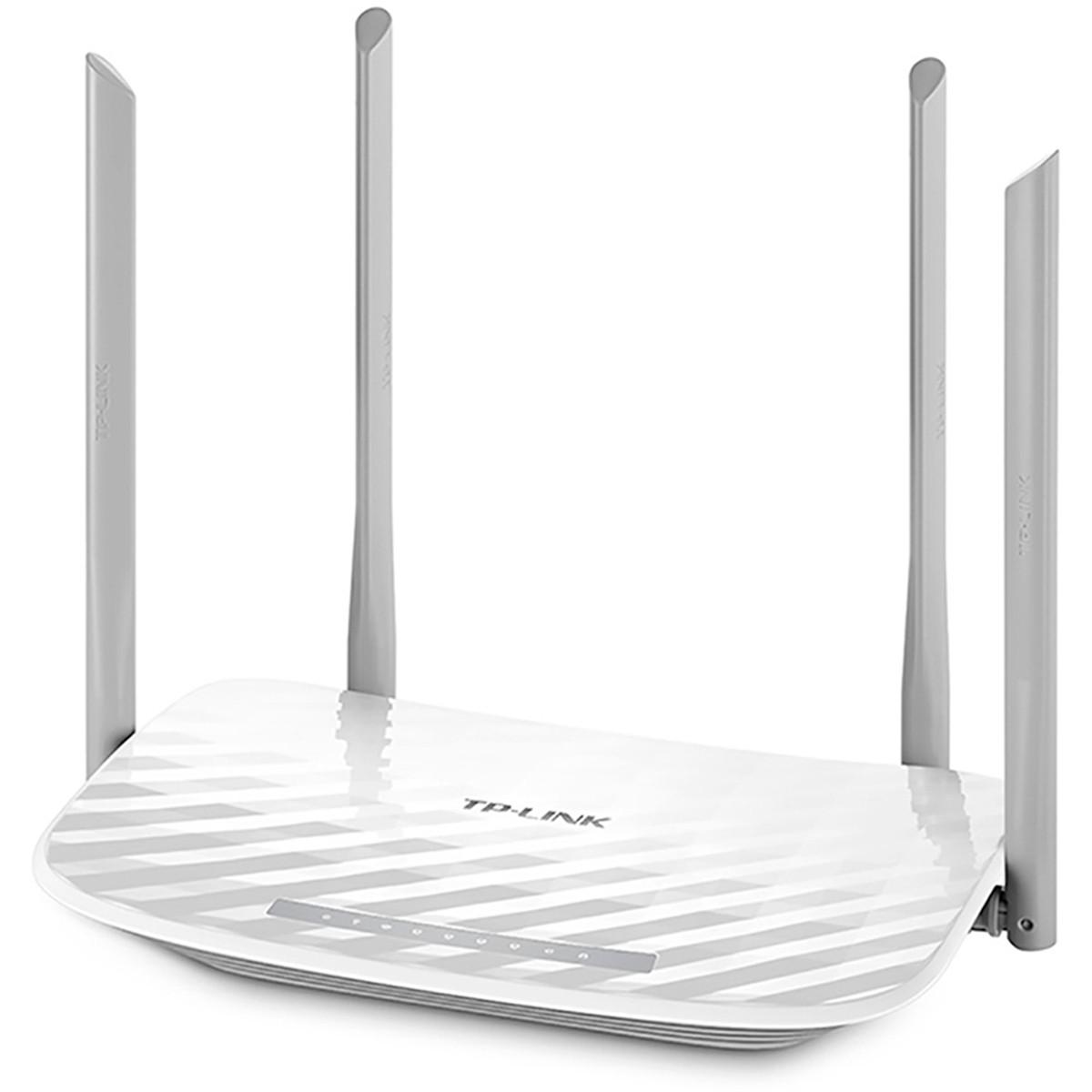 Roteador Wireless com 4 Antenas TP-LINK Archer C25 AC900 433Mbps e 450Mbps