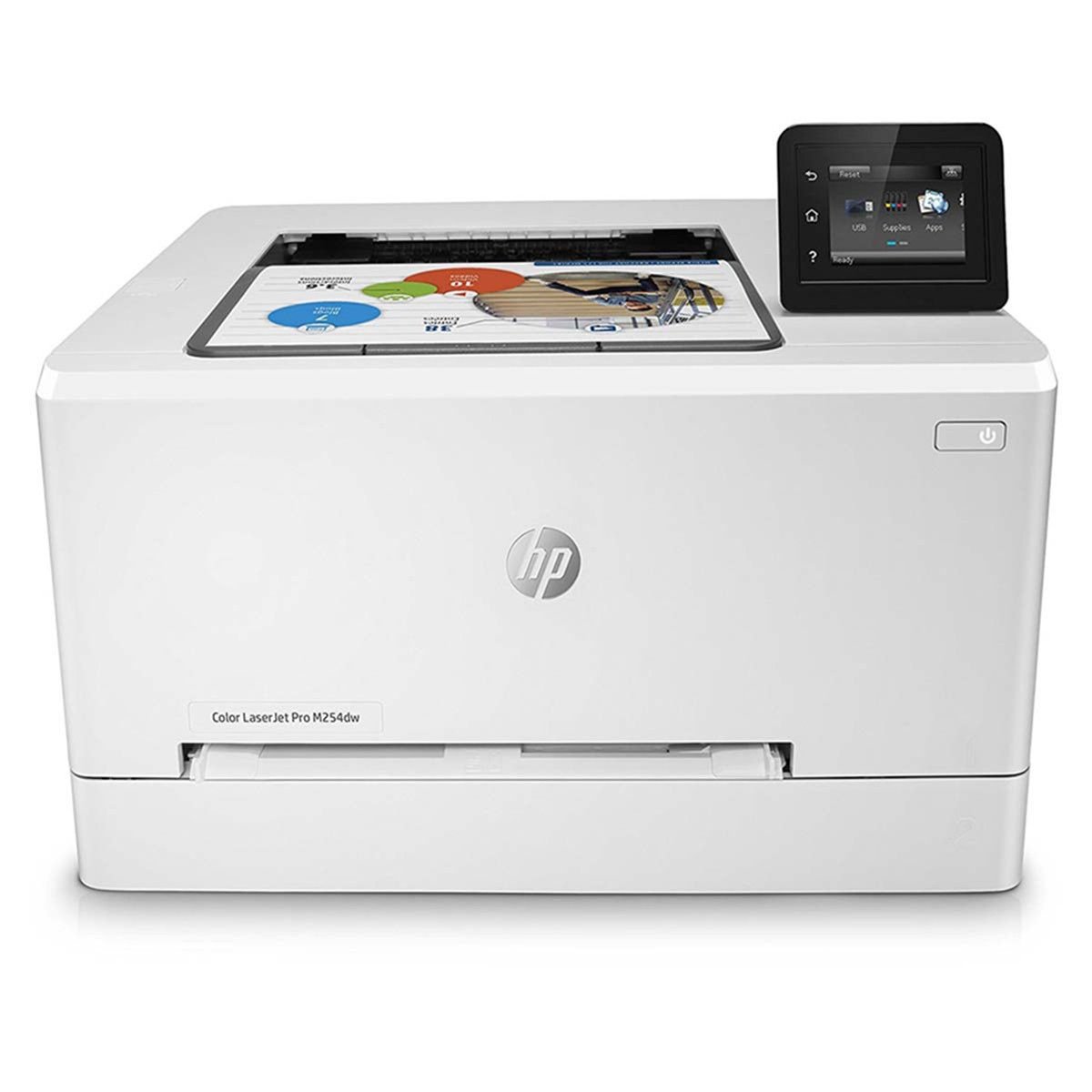 Impressora HP LaserJet M254DW T6B60A | Colorida Com Impressão Duplex e Wireless