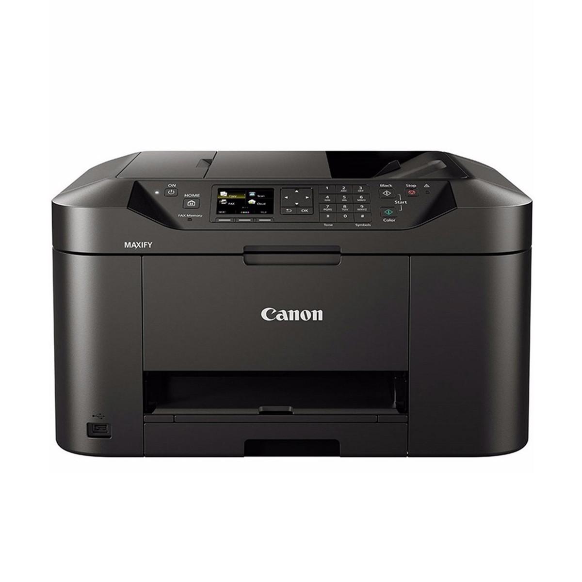 Impressora Canon Maxify MB2110 MB-2110 | Multifuncional Jato de Tinta com Conexão Wireless