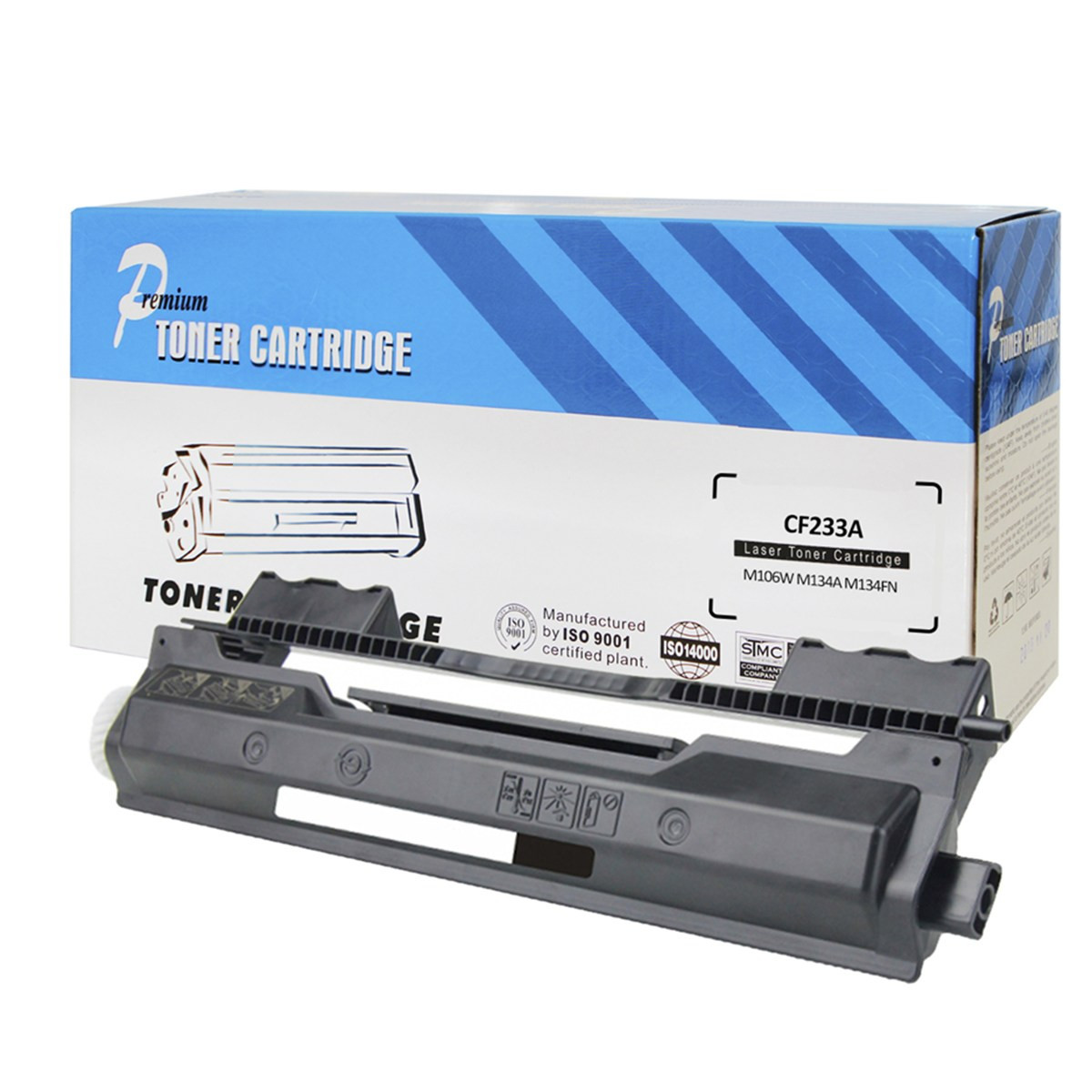 Toner Compatível HP CF233A 33A | M106 M134 M106W M134A M134FN 106W 134A 134FN | Premium 2.3k