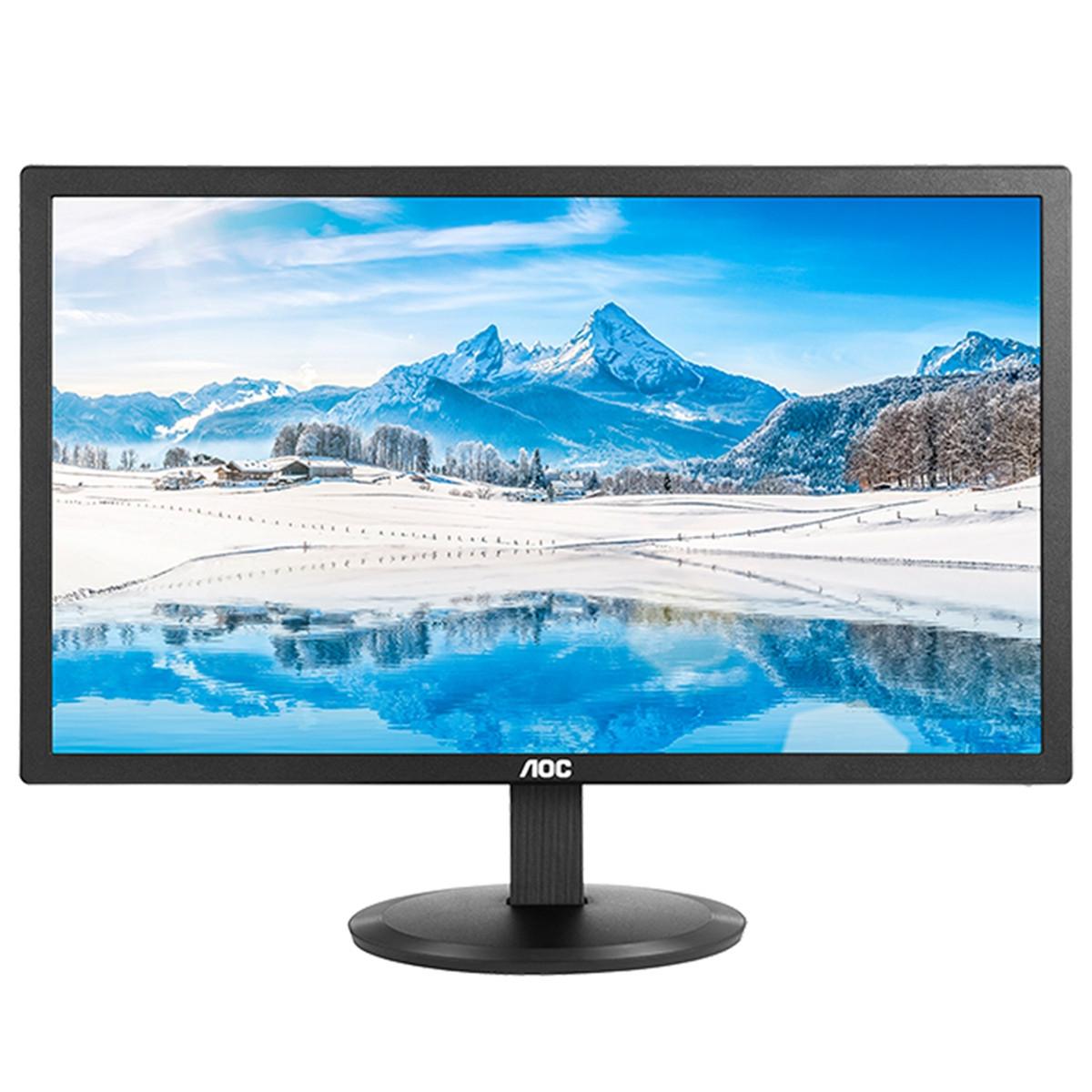"Monitor 21,5"" LED Widescreen E2280SWDN 1920x1080   AOC"