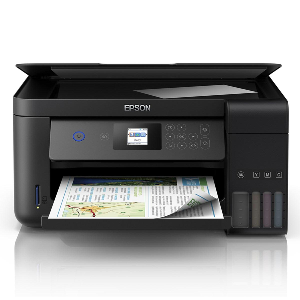Impressora Epson L4160 | Multifuncional Tanque de Tinta com Wireless e Duplex