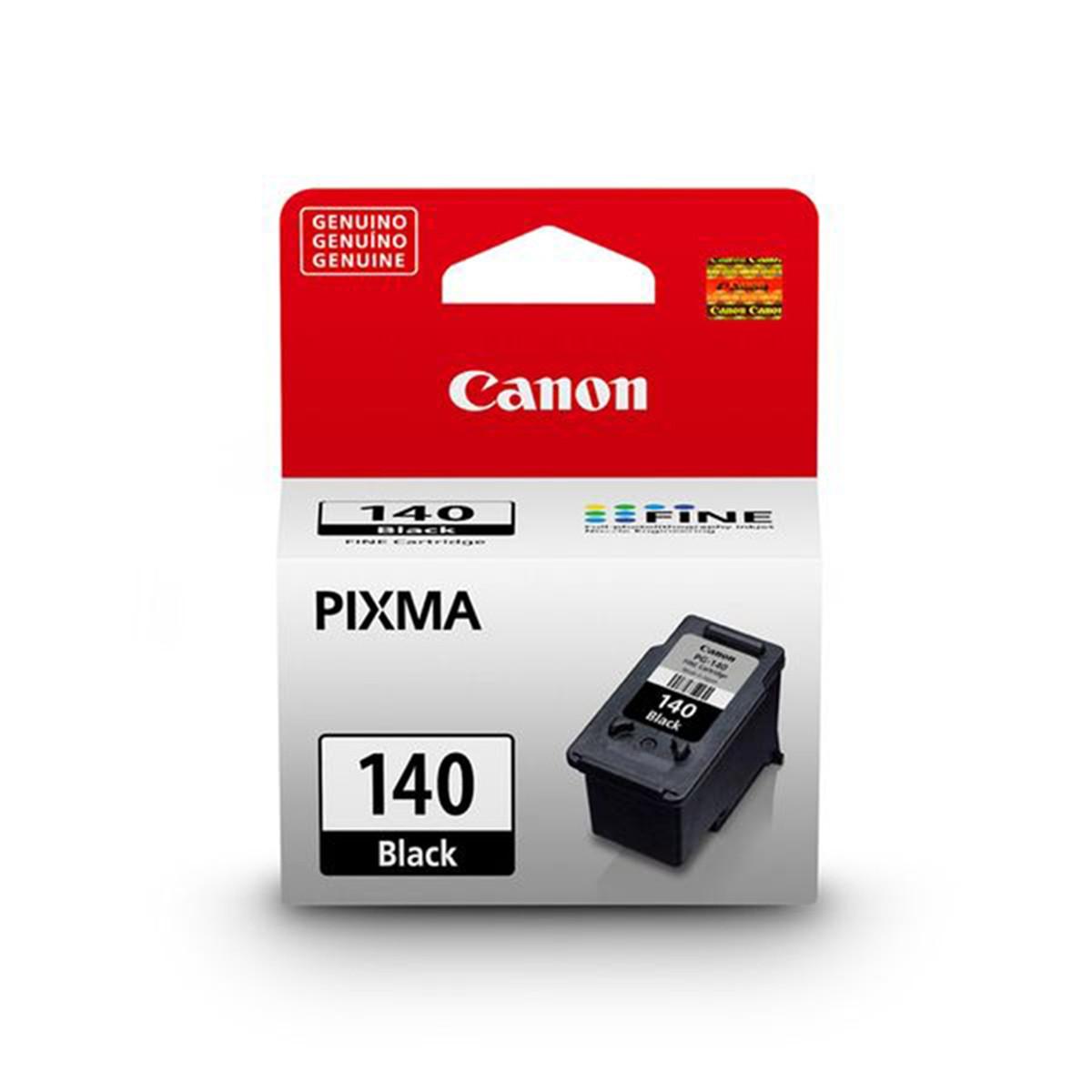 Cartucho de Tinta Canon PG-140 PG140 Preto | Original 8ml