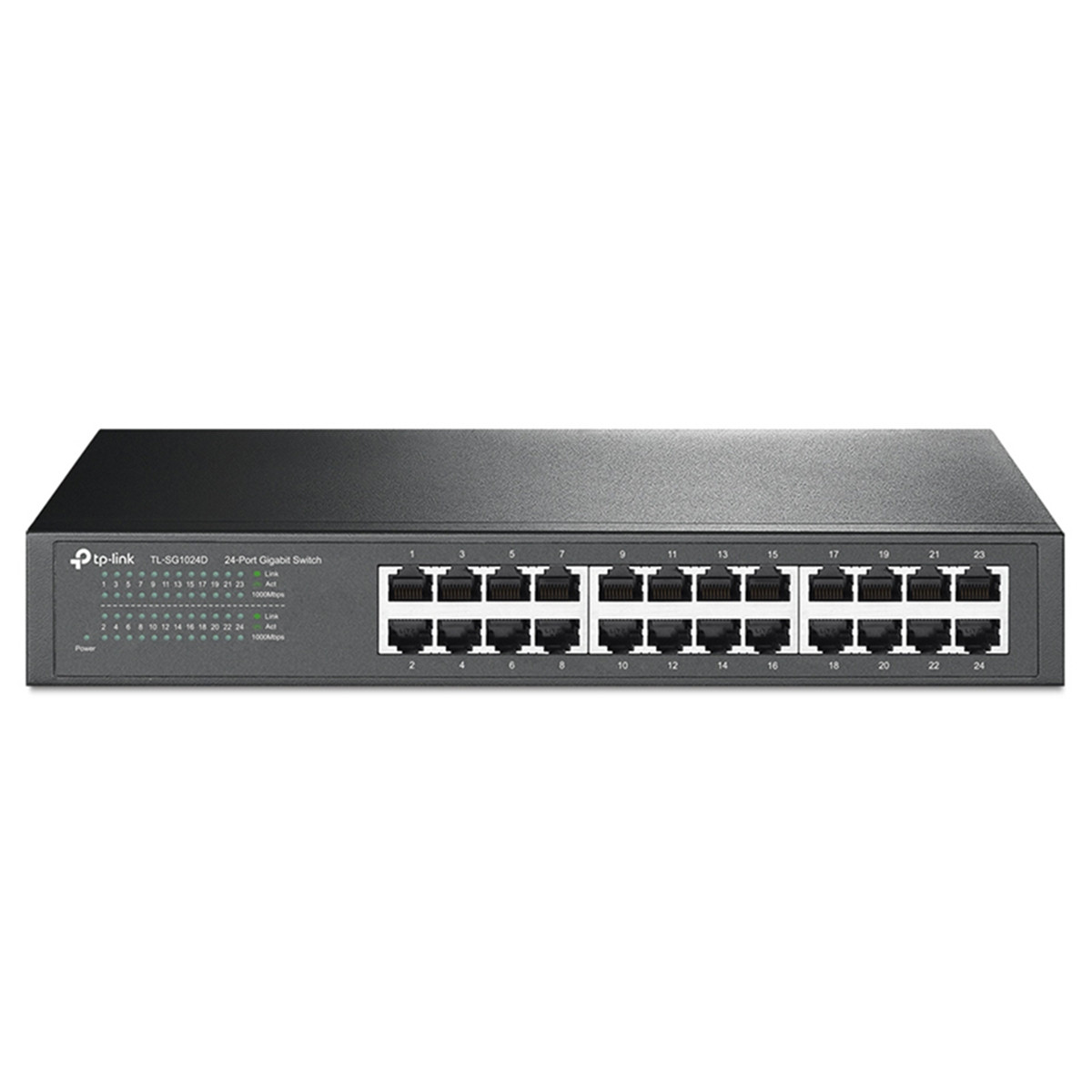 Switch TP-LINK TL-SG1024D 1000Mbps com 24 Portas