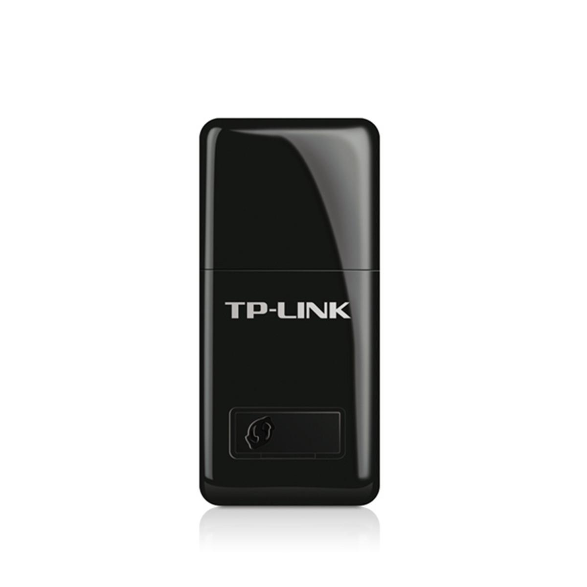 Mini Adaptador de Rede Wireless TP-LINK TL-WN823N Entrada USB 300Mbps