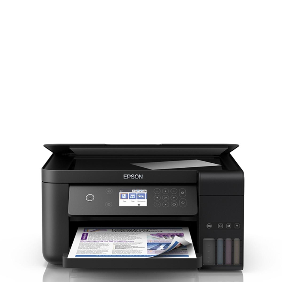Impressora Epson L6161 | Multifuncional Tanque de Tinta com Wireless e Duplex