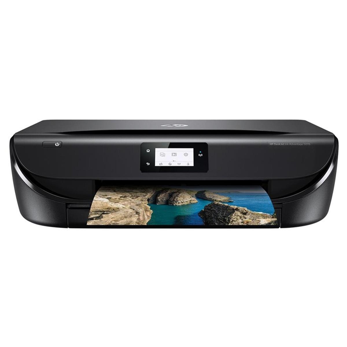 Impressora HP DeskJet 5076 M2U87A | Multifuncional Ink Advatange com Wireless e Duplex