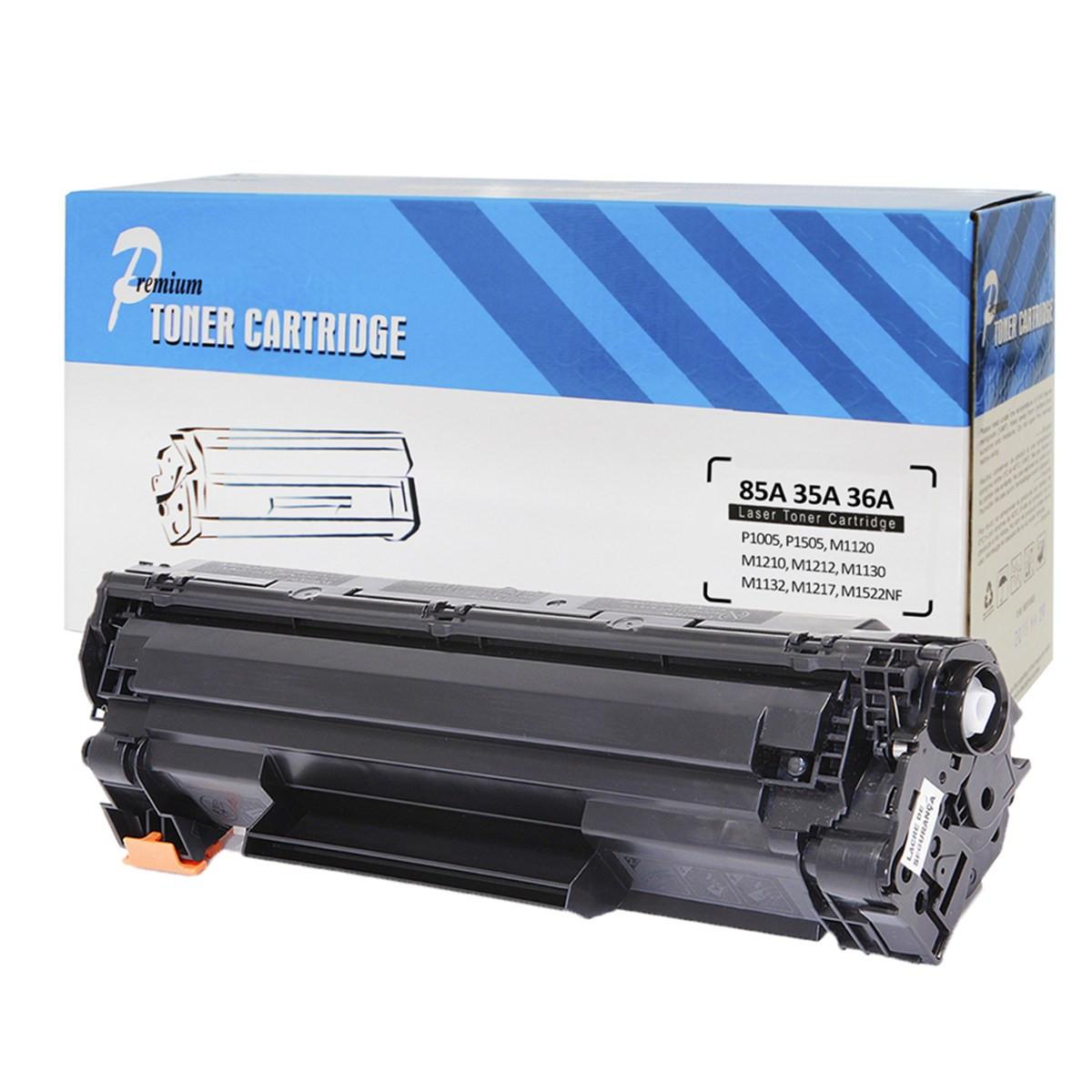 Caixa com 15 Toner Compatível com HP Universal 35A 36A 85A CB435A CB436A CE285A | Premium