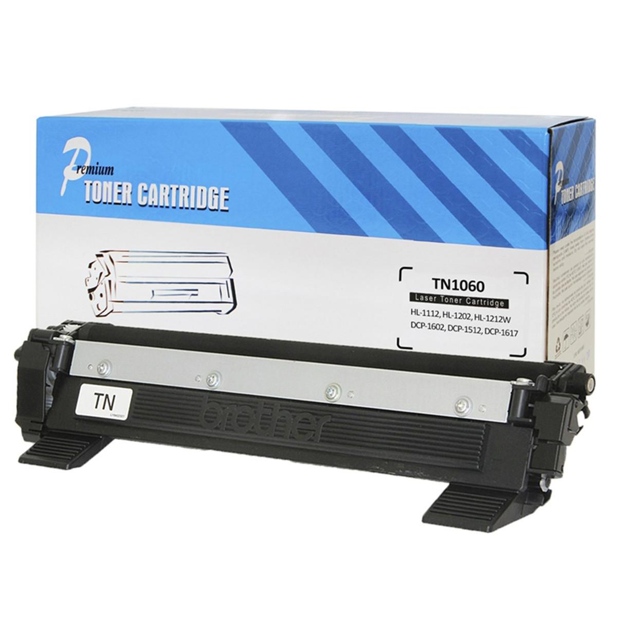 Caixa com 20 Toner Compatível com Brother TN-1060 | 1112 1202 1212 1602 1512 1617 | Premium
