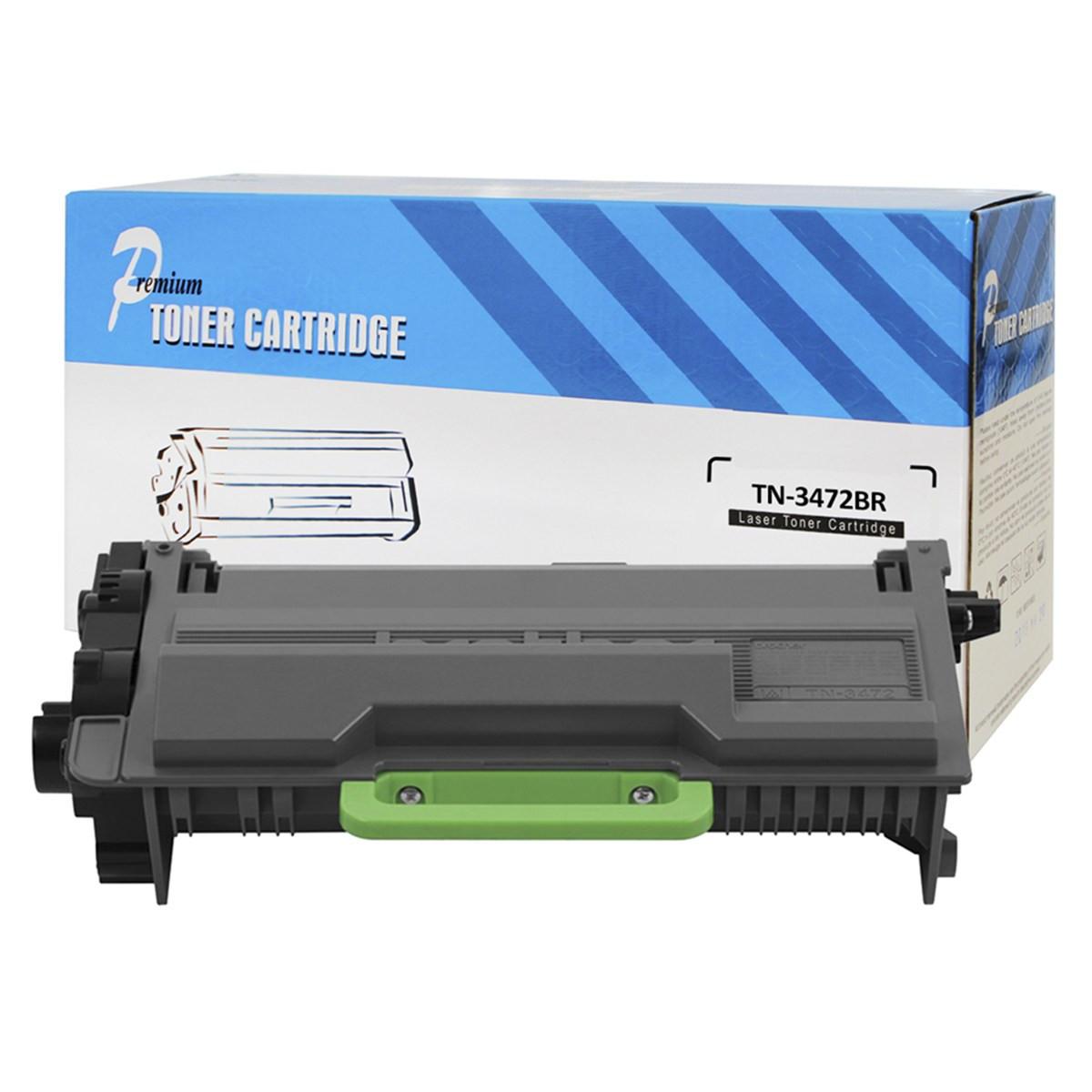 Caixa com 10 Toner Compatível com Brother TN-3472 | DCP-L5652DN DCP-L5502DN MFC-L6702DW | Premium