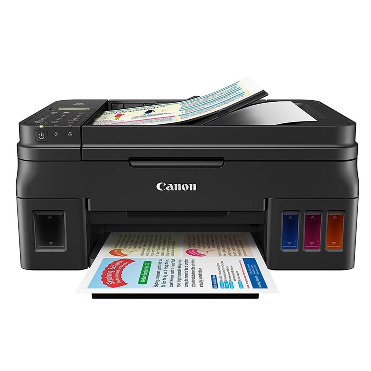 Impressora Canon Maxx Tinta G4100 | Multifuncional Tanque de Tinta com Wireless e ADF