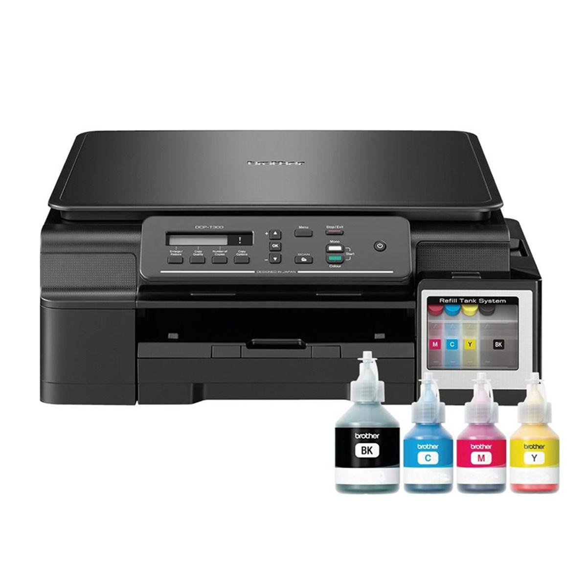 Impressora Brother DCP-T310 Multifuncional Tanque de Tinta Colorida