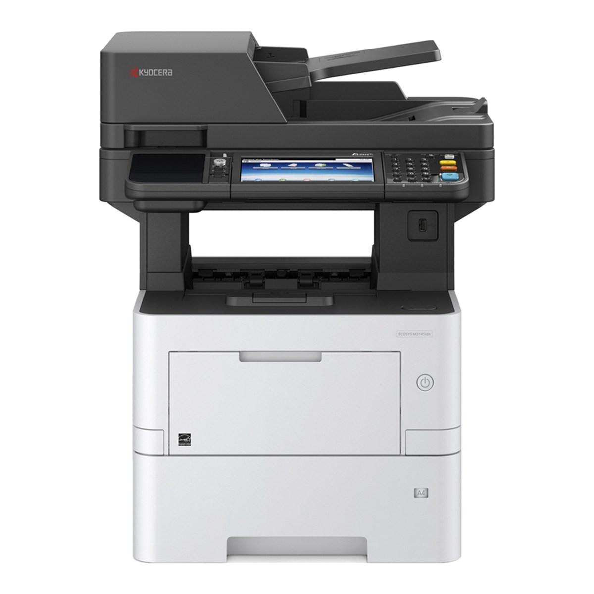 Impressora Kyocera Ecosys M3145IDN M3145 | Multifuncional Laser Monocromática com Duplex e Rede
