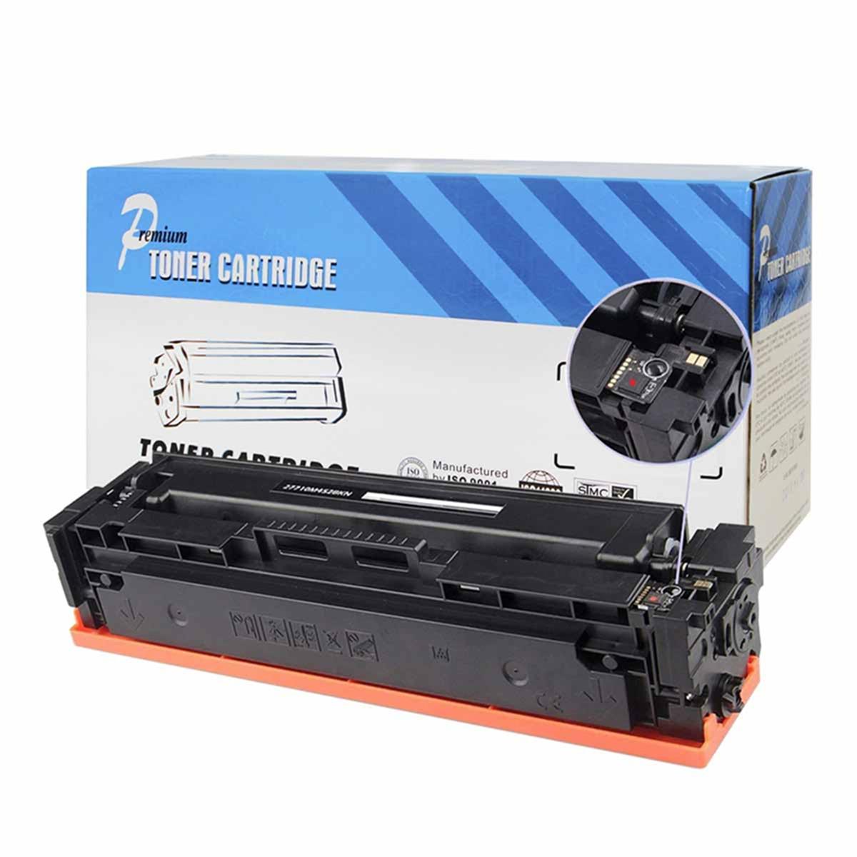 Toner Compatível com HP CF501A 202A Ciano | M281FDW M254DW M-281FDW M-254DW | Premium 1.3k