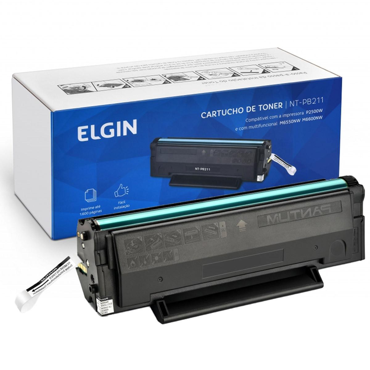 Toner Elgin PB-211EV P2500W M6550NW M6600N P2500 M6550 M6600 | Elgin 1.6k