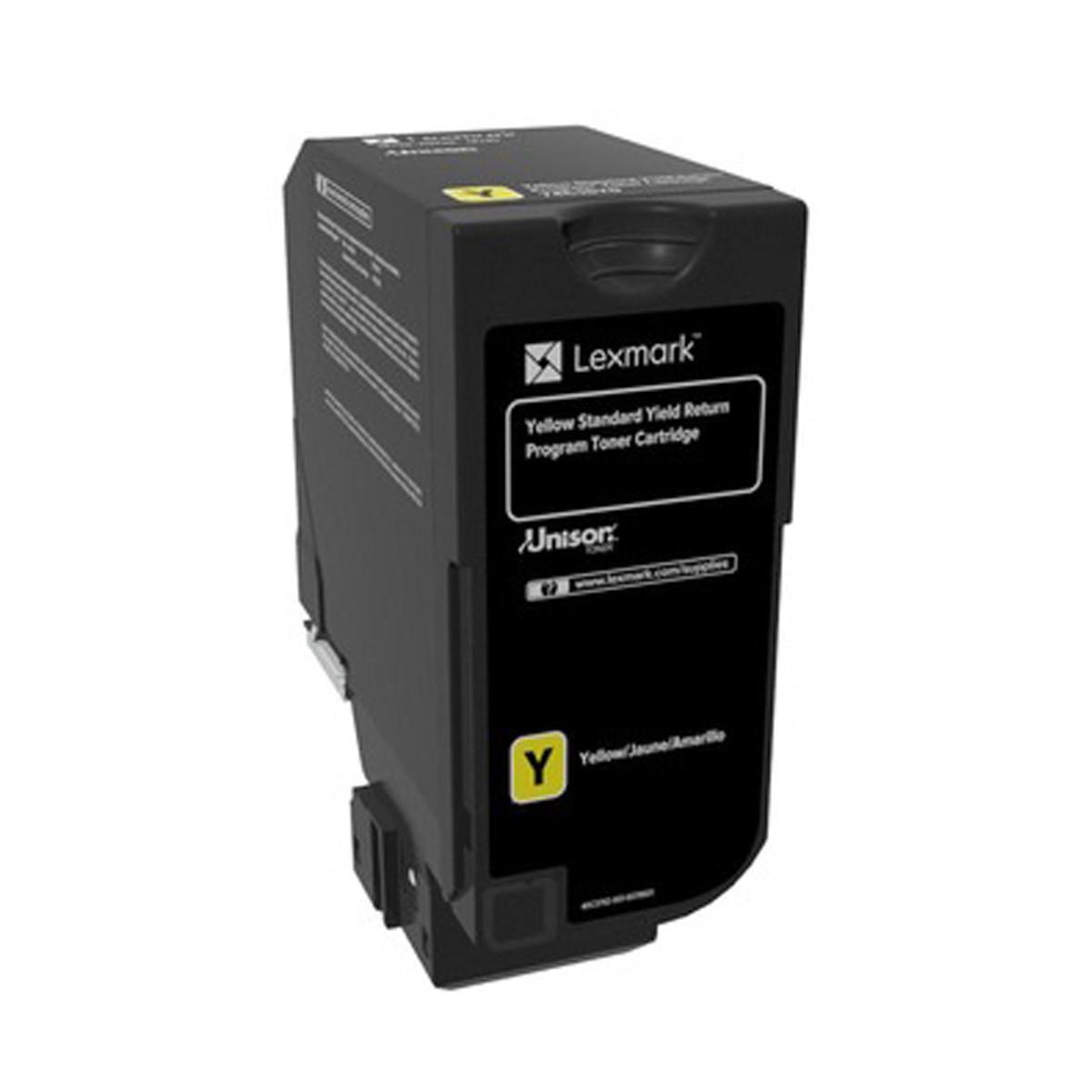 Toner Lexmark Amarelo 74C4SY0 74C4S | CS720 CX725 CS725 | Original 7K