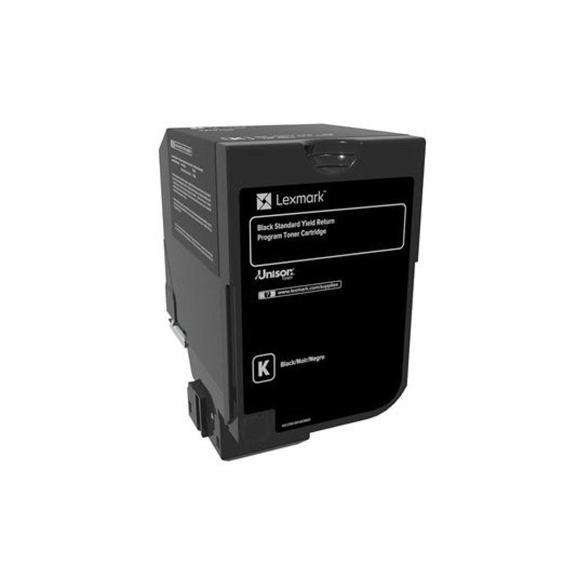 Toner Lexmark Preto 74C4HK0 74C4H | CS720 CS725 | Original 20K