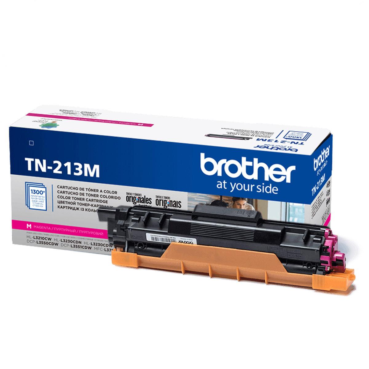 Toner Brother TN-213M TN-213 Magenta | MFC-L3750CDW L3750CDW L3750 | Original 1.3K