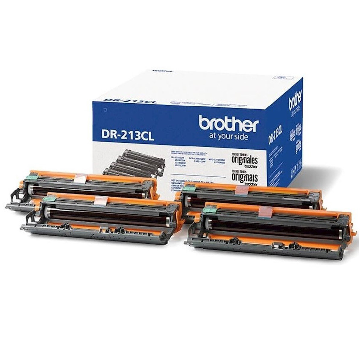Cartucho de Cilindro Brother DR213CL DR213 | MFC-L3750CDW | Original 18k