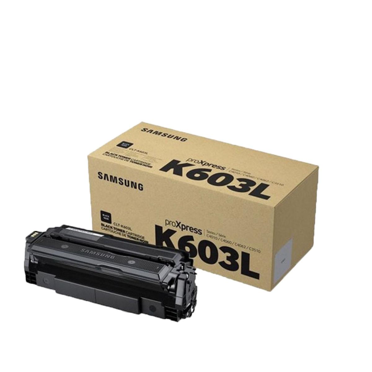 Toner Samsung CLT-K603L K-603L Preto   C4010 C4060   Original 15K