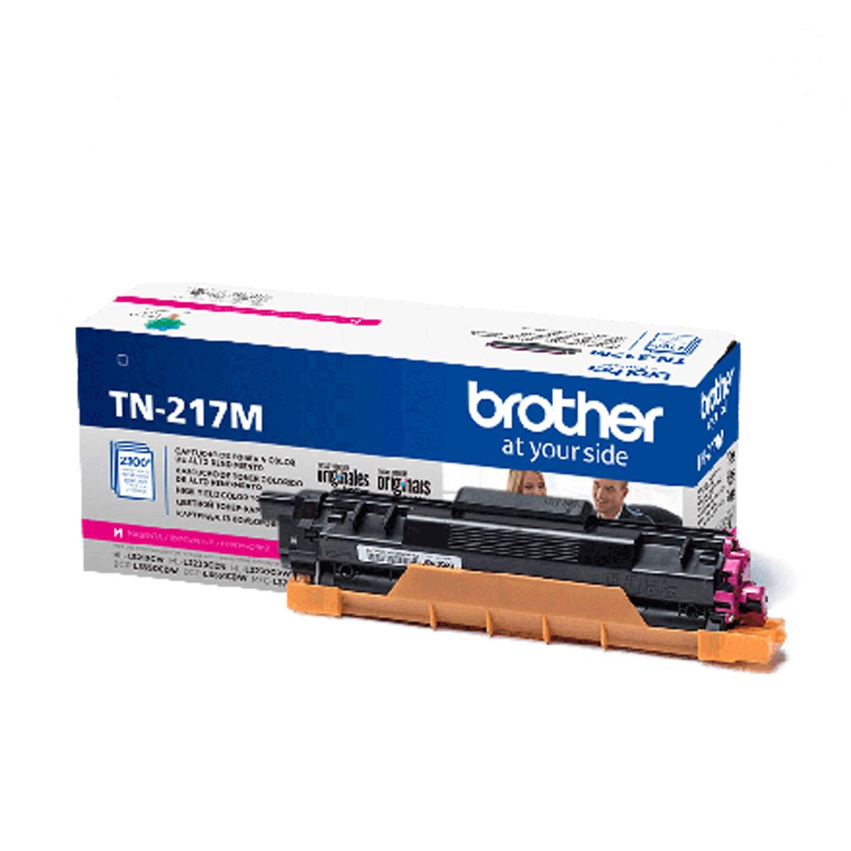 Toner Brother TN-217M TN-217 Magenta | MFC-L3750CDW HLL3210CW DCP-L3551CDW | Original 2.3K