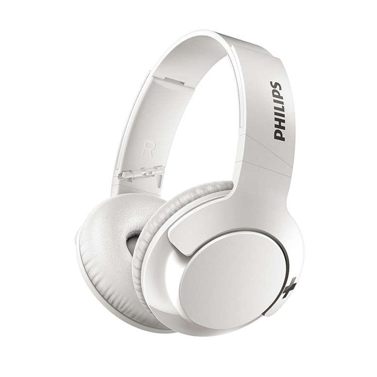 Fone de Ouvido Headset Bluetooth Headphone BASS+ SHB3175WT Supra-Auricular Branco | Philips
