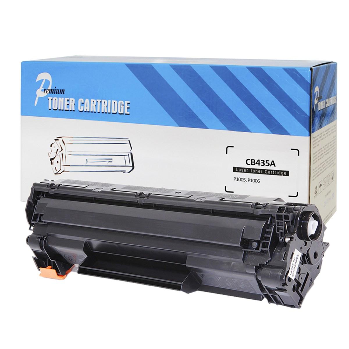 Toner Compatível com HP CB435A 35A 435A CB435AB | LaserJet P1005 P1006 | Premium 1.8k