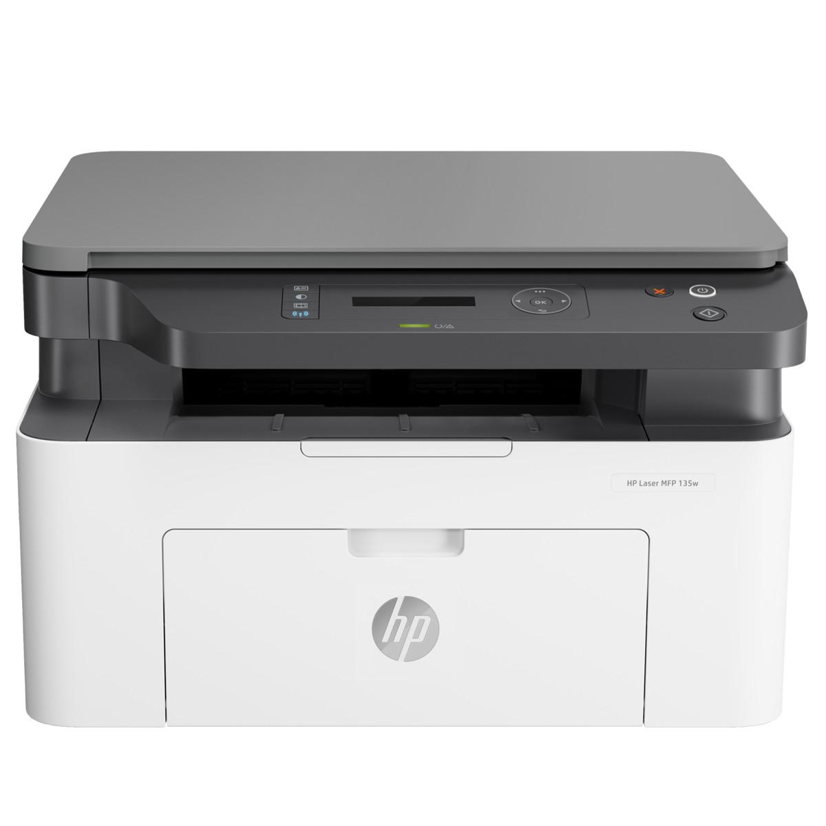 Impressora HP LaserJet MFP-M135W 4ZB83A Multifuncional com Wireless