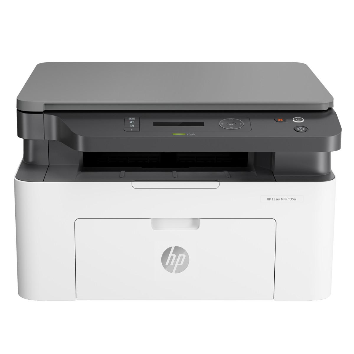 Impressora HP LaserJet MFP-M135A 4ZB82A Multifuncional com USB