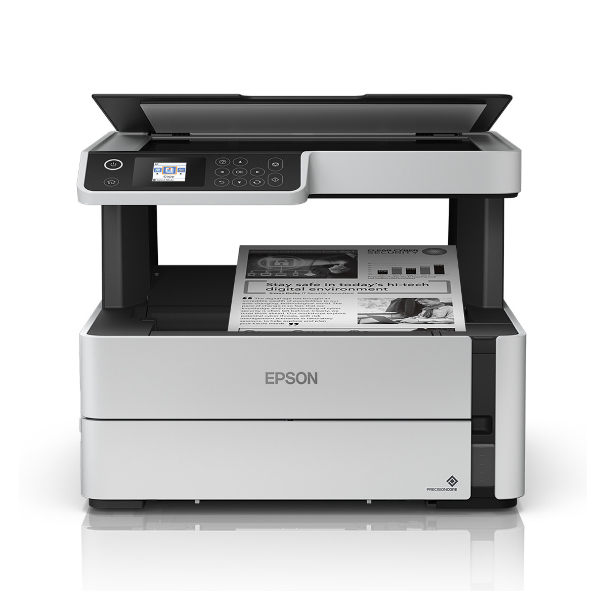 Impressora Epson M2170 EcoTank Multifuncional com Wireless e Duplex