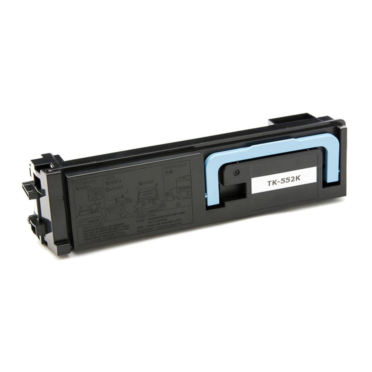Toner Compatível com Kyocera TK552 TK552K Preto   FS-C5200DN C5200   Zeus 7k
