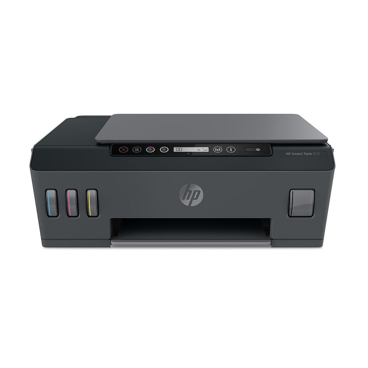 Impressora HP Smart Tank 517 1TJ10A Multifuncional com Wireless