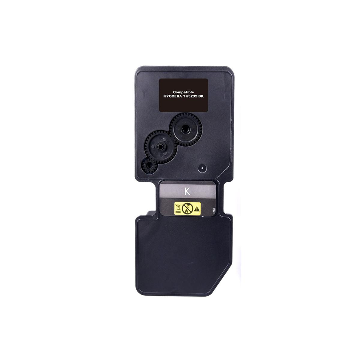 Toner Compatível com Kyocera TK-5232K TK5232 Preto | P5021CDN 5021CDN M5521CDN 5521CDN | Zeus 2.6k