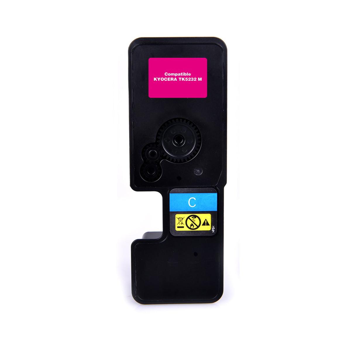 Toner Compatível com Kyocera TK-5232M TK5232 Magenta | P5021CDN 5021CDN M5521CDN | Importado 2.2k