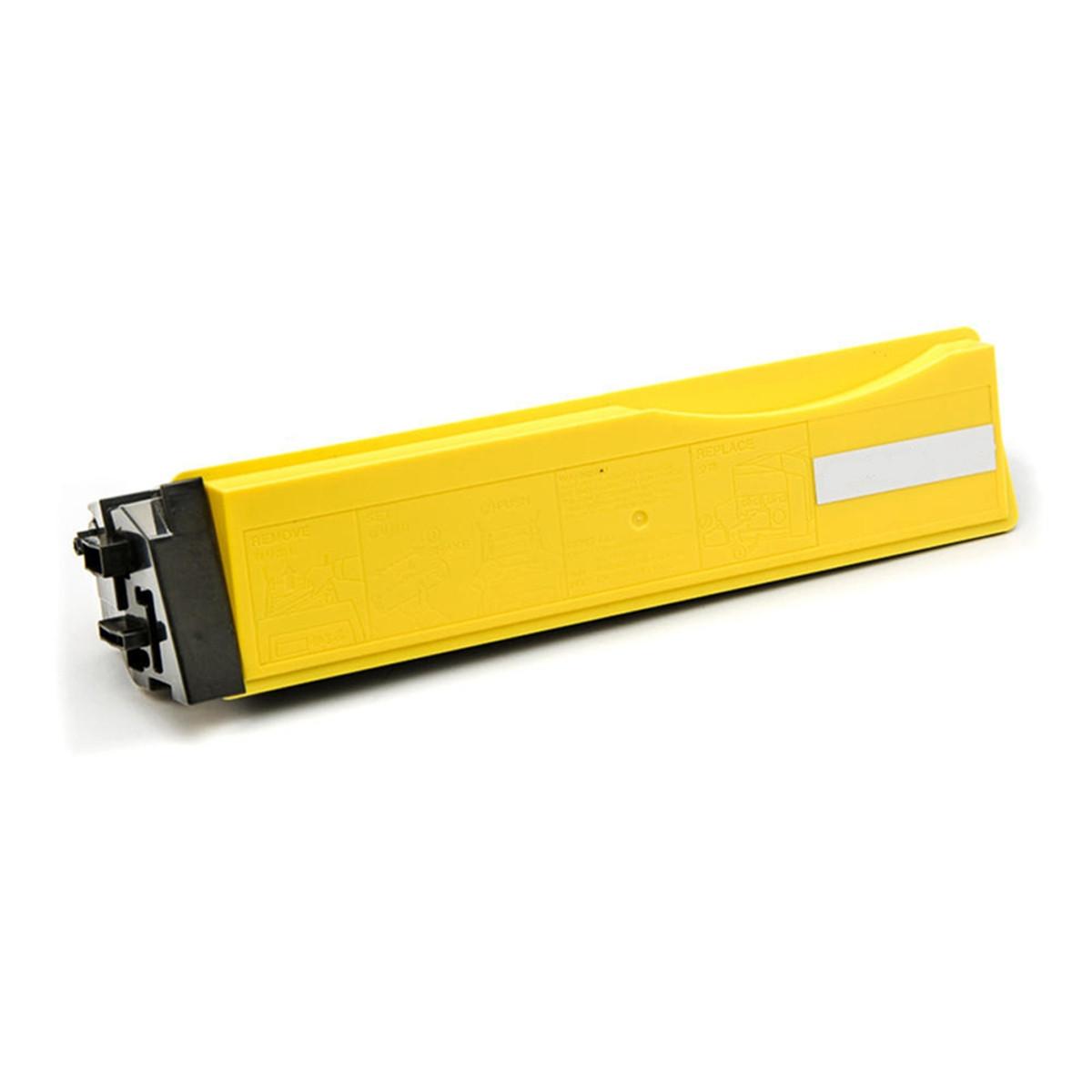 Toner Compatível com Kyocera TK552 TK552Y Amarelo   FS-C5200DN FS-C5200 5200DN 5200   Zeus 6k