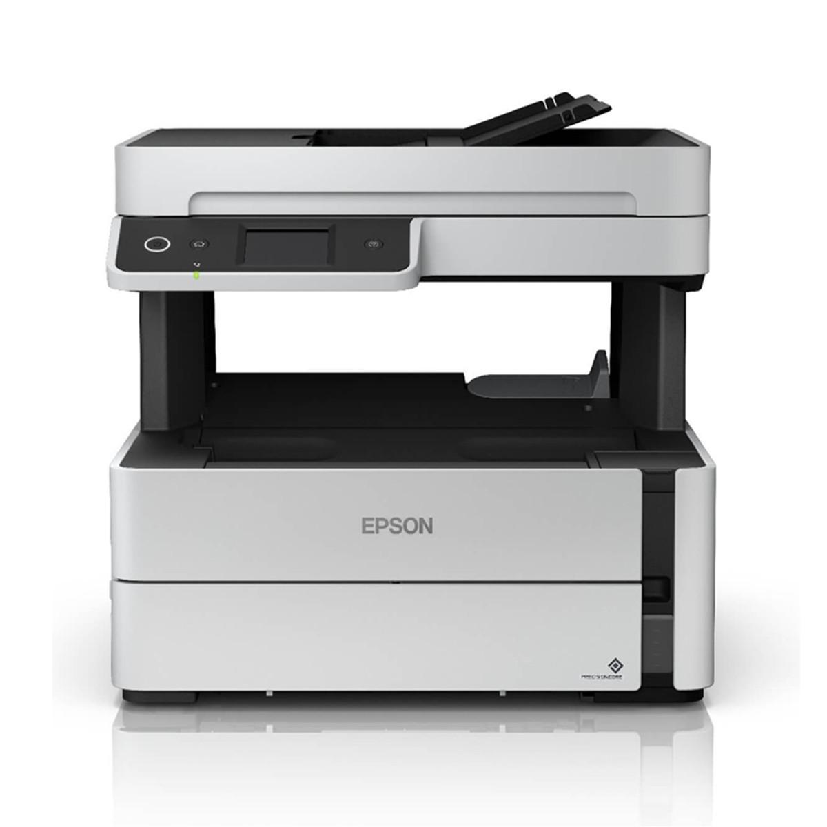 Impressora Epson M3180 EcoTank Multifuncional com Wireless e Duplex